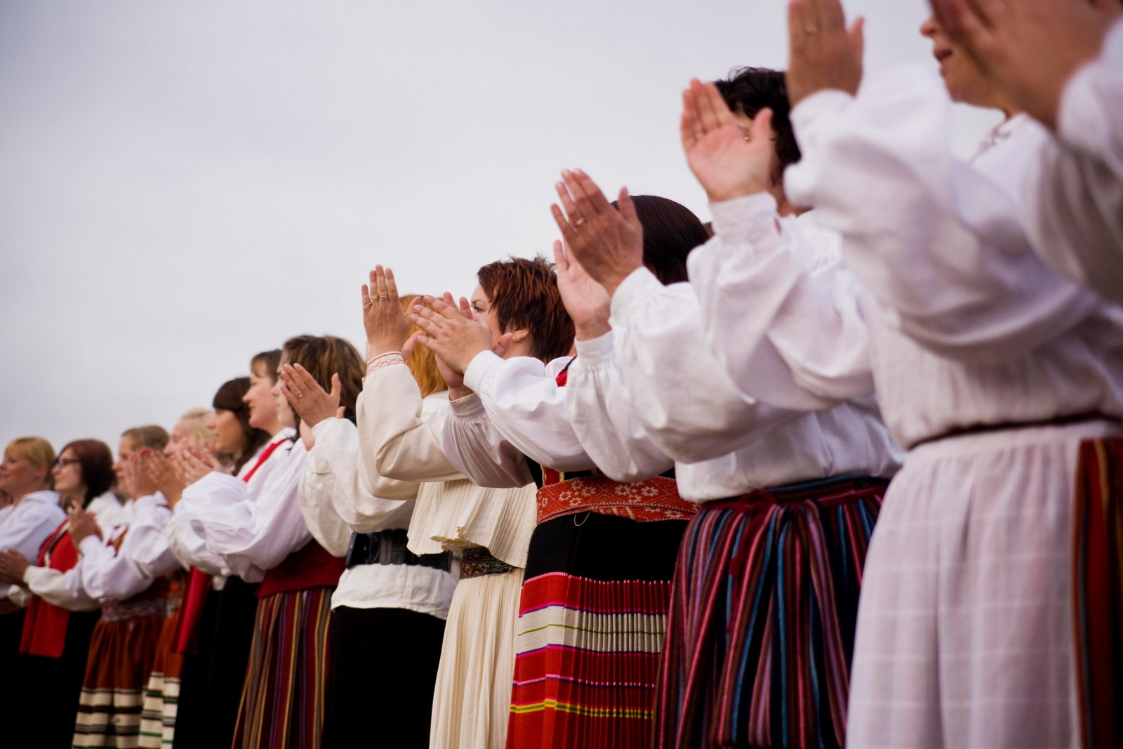 Is the Estonian national anthem on loan?